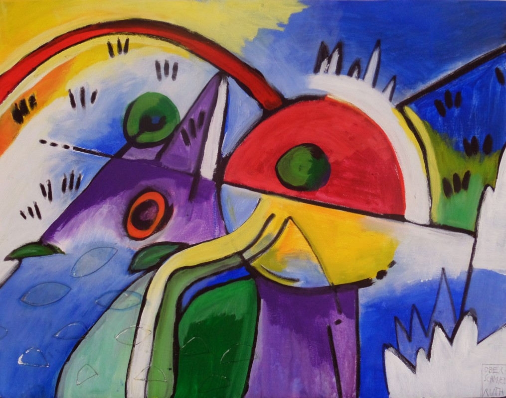 CHROM ART - BUNT >On Kandinsky< Andreas Marinello